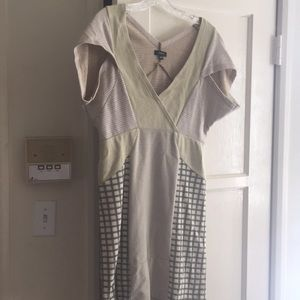 Fun, recycled patchwork dress